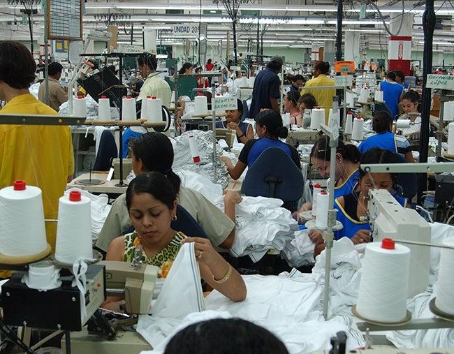 La maquila alcanza cifra record de empleos directos en Honduras