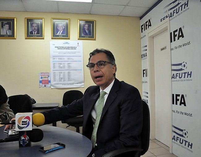 José Ernesto Mejía: Quiero que la Federación funcione como un reloj