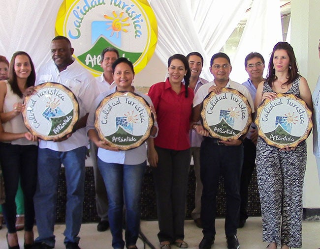 Premian a empresas con calidad turística