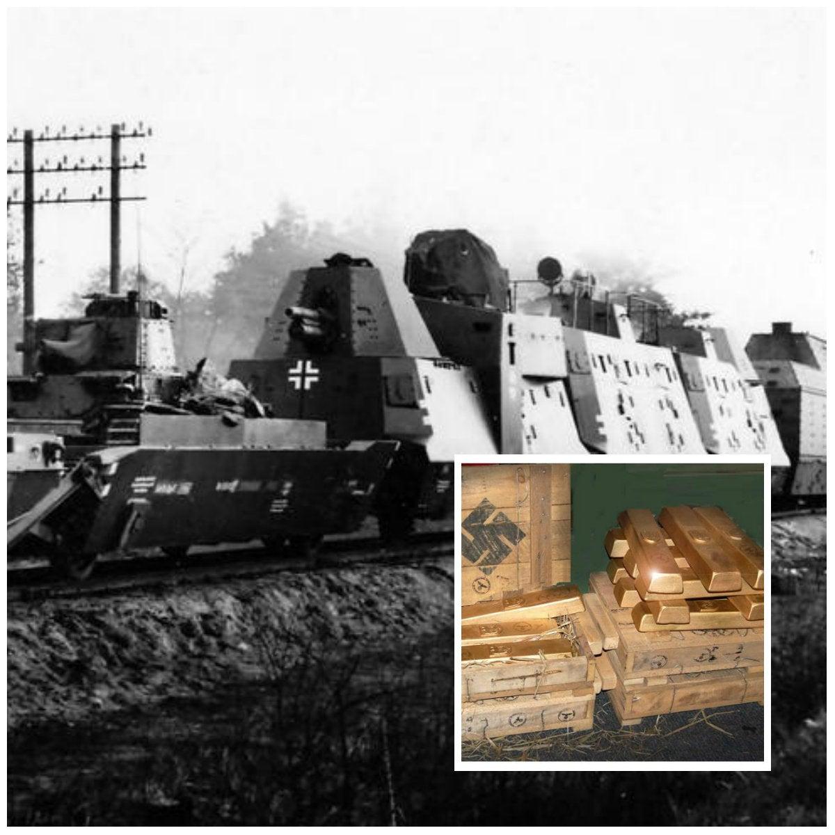 Tren «fantasma» cargado de oro nazi habría sido descubierto en Polonia