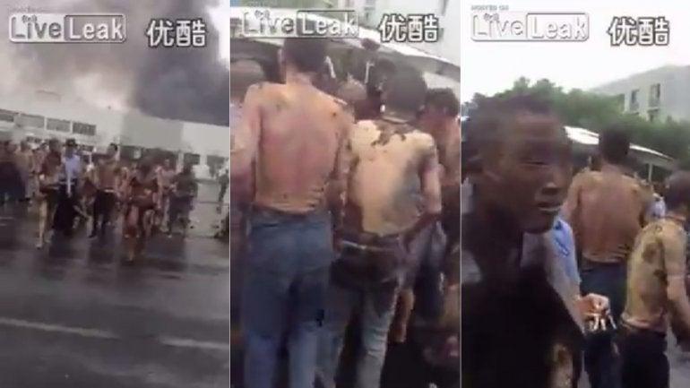 Los rostros de la tragedia: Asì quedaron las víctimas tras explosión en Tianjin