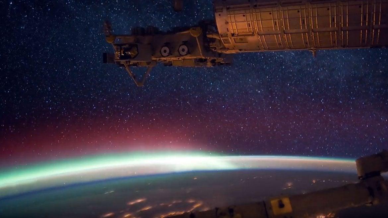 Sinfonía espacial: Así se ve la Tierra desde el espacio
