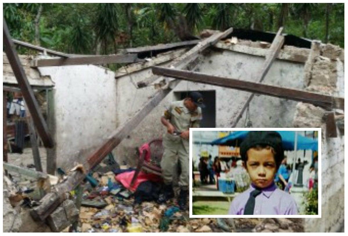 Murió Selvin Pineda, el otro niño que sufrió quemaduras en explosión de cohetería en Santa Bárbara