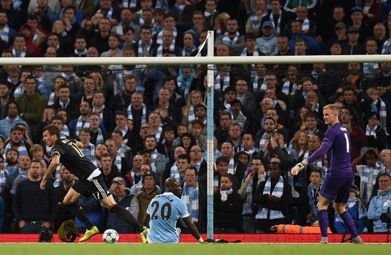 Juventus derrota al Manchester City en su casa