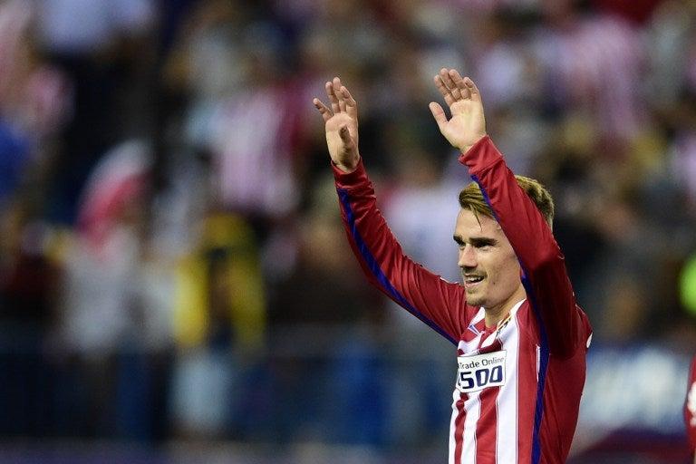 Antoine Griezmann le da triunfo al Atlético de Madrid