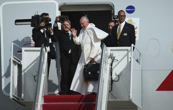 Francisco pone fin a su gira por Cuba y Estados Unidos