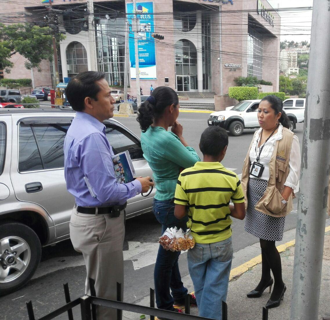 Investigan explotación y mendicidad; hay unos 5 mil menores en San Pedro Sula