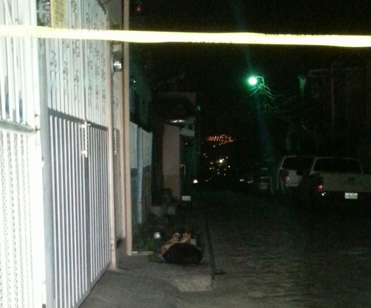 A balazos asesinan a joven en colonia La Esperanza
