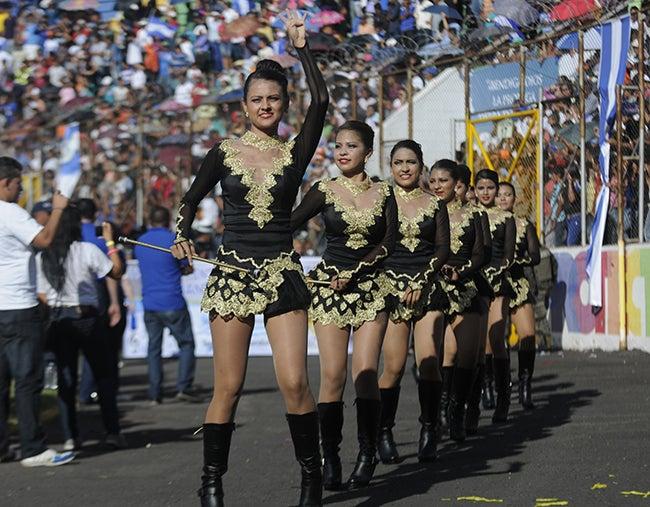 Desfiles  por Independencia arrancan el domingo en Tegucigalpa