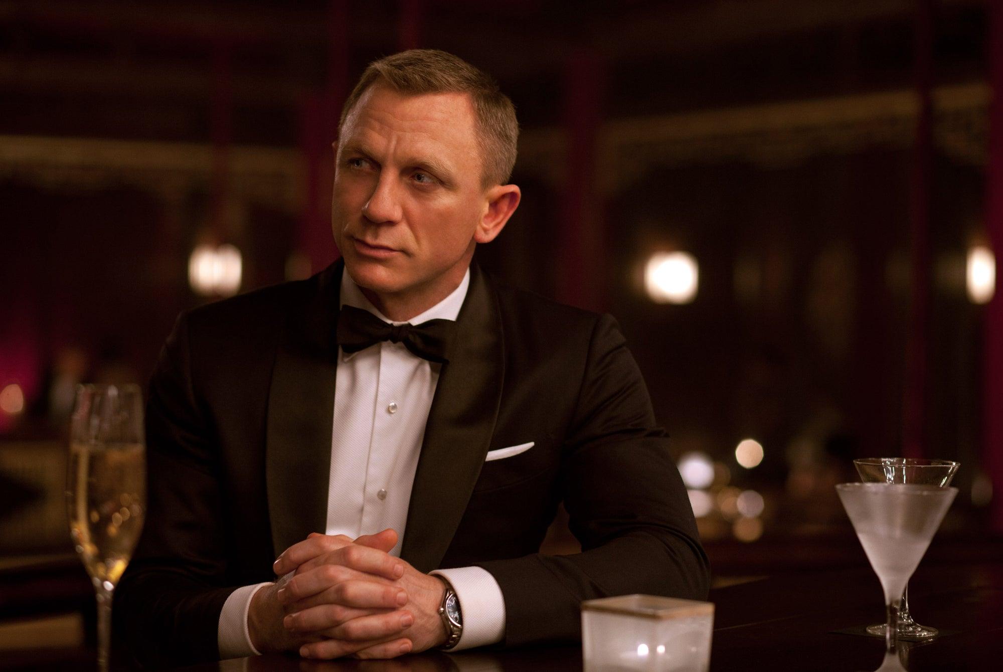 Daniel Craig es el James Bond más bebedor de todos