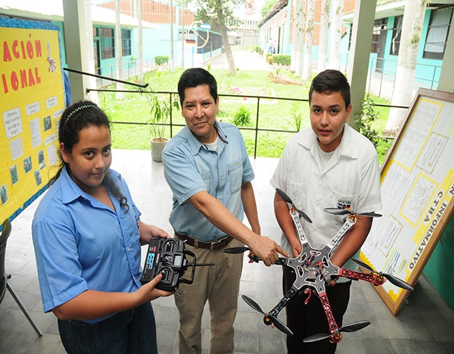 Honduras: Un dron presentarán en Feria del Técnico Alemán