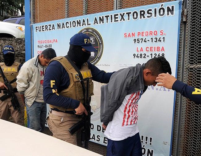 Menores metidos en la extorsión en Honduras