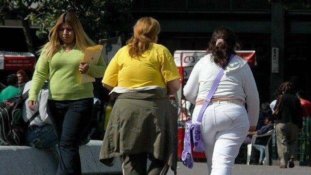 Hay más hondureños con sobrepeso y obesidad