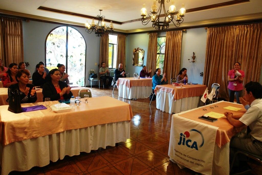 JICA capacita personal de hospital San Felipe  en manejo de Emergencias Obstétricas