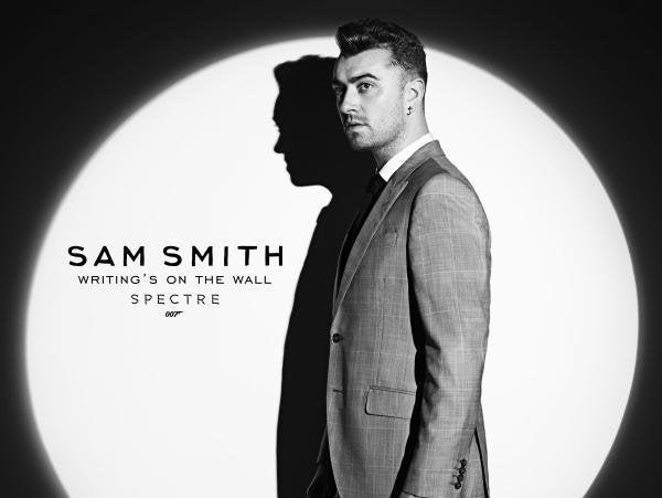 Sam Smith presentó la canción de la nueva película de James Bond