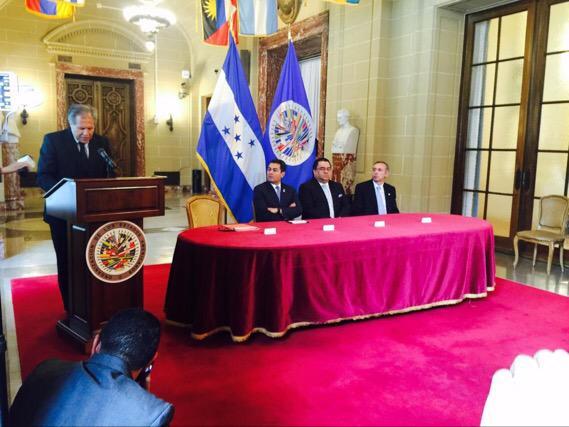 OEA anuncia creación de misión de combate a corrupción e impunidad en Honduras