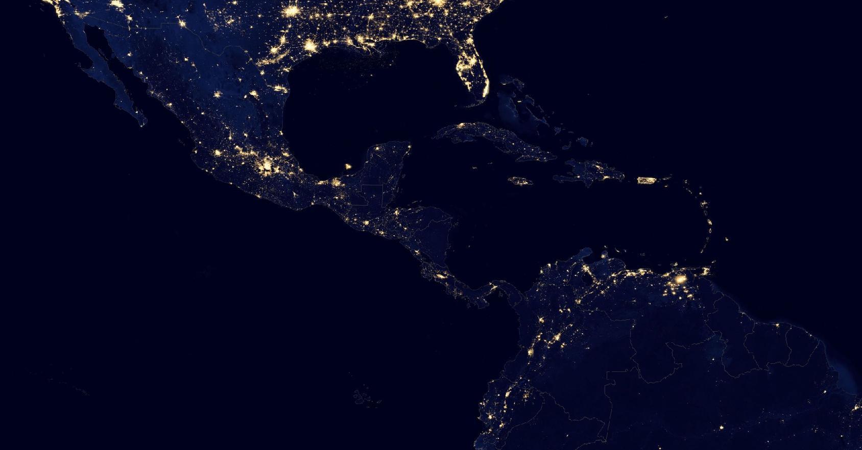 Así se ve la pobreza desde el espacio