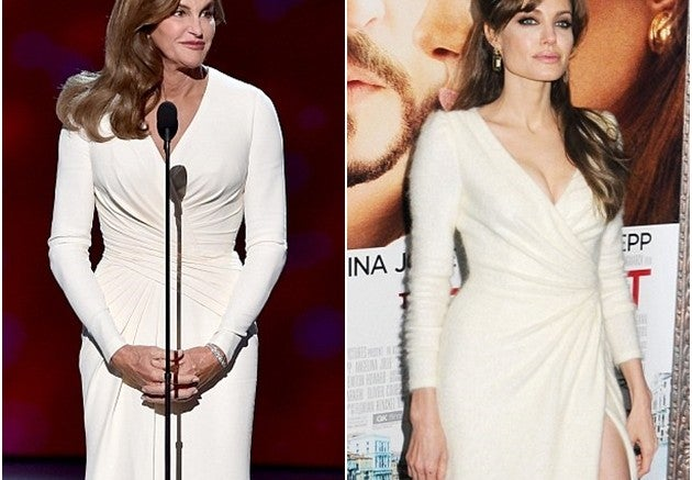 Fotos: Catlyn Jenner revela que inspira su estilo en Angelina Jolie
