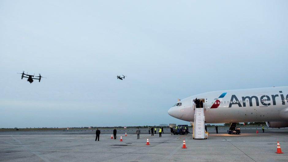 EEUU: Hombre entró a pista de aeropuerto con la esperanza de conocer al papa