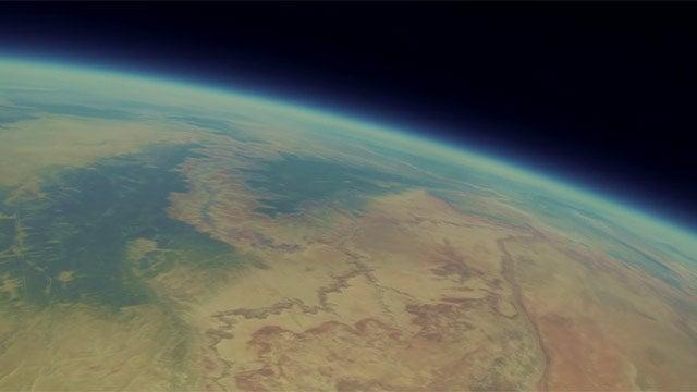 Lanzan GoPro a la estratósfera y aparece 2 años después con estas imágenes