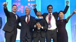 Hondureño recibe premio de la Iniciativa Global Clinton