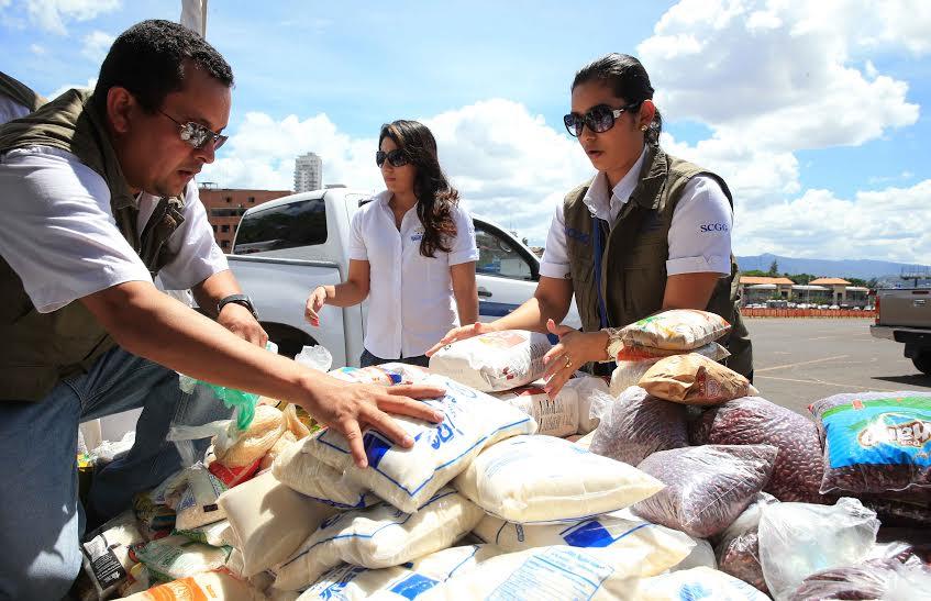 Maratón Adopta una Familia: 3 millones de lempiras recaudaron en alimentos