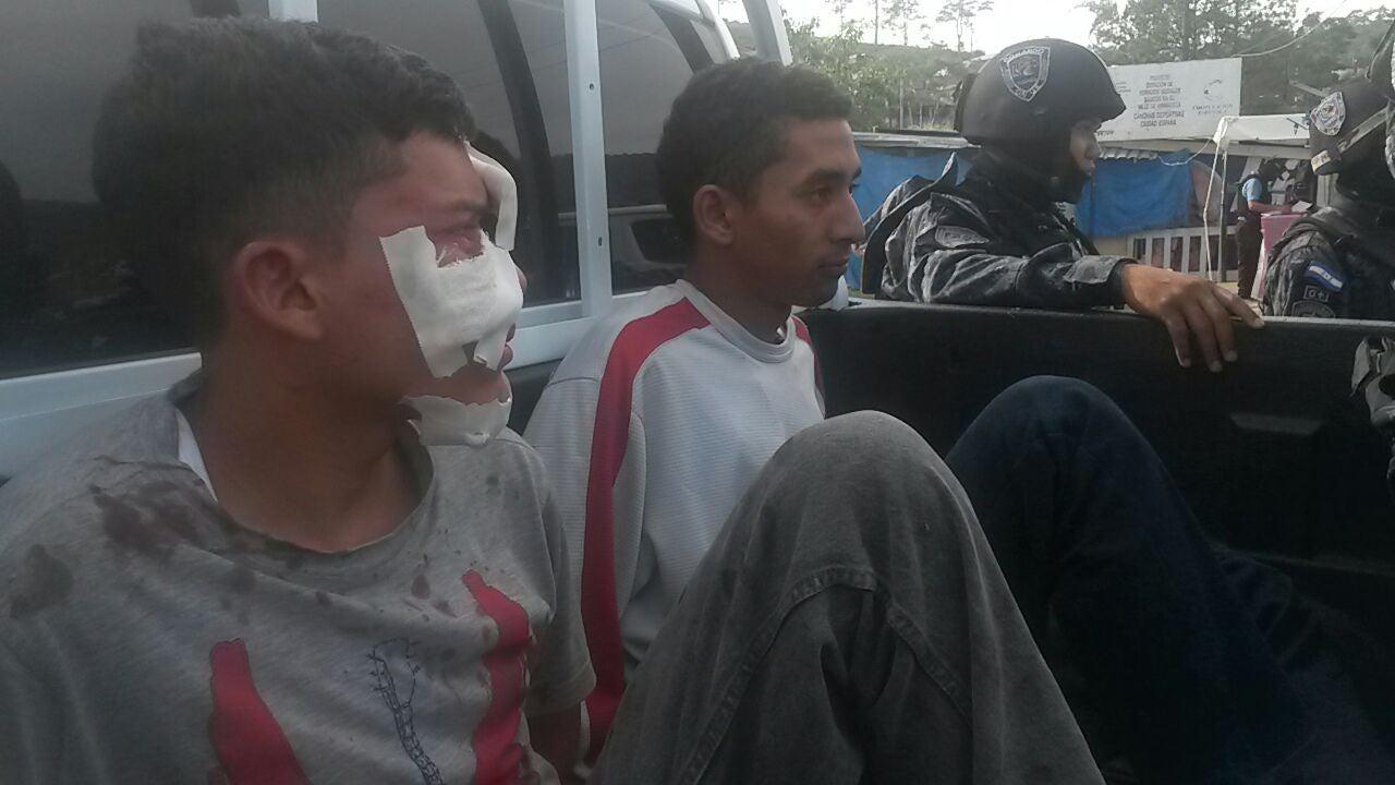 Efectúan operativo antimaras en Ciudad España en Tegucigalpa; hay varios detenidos
