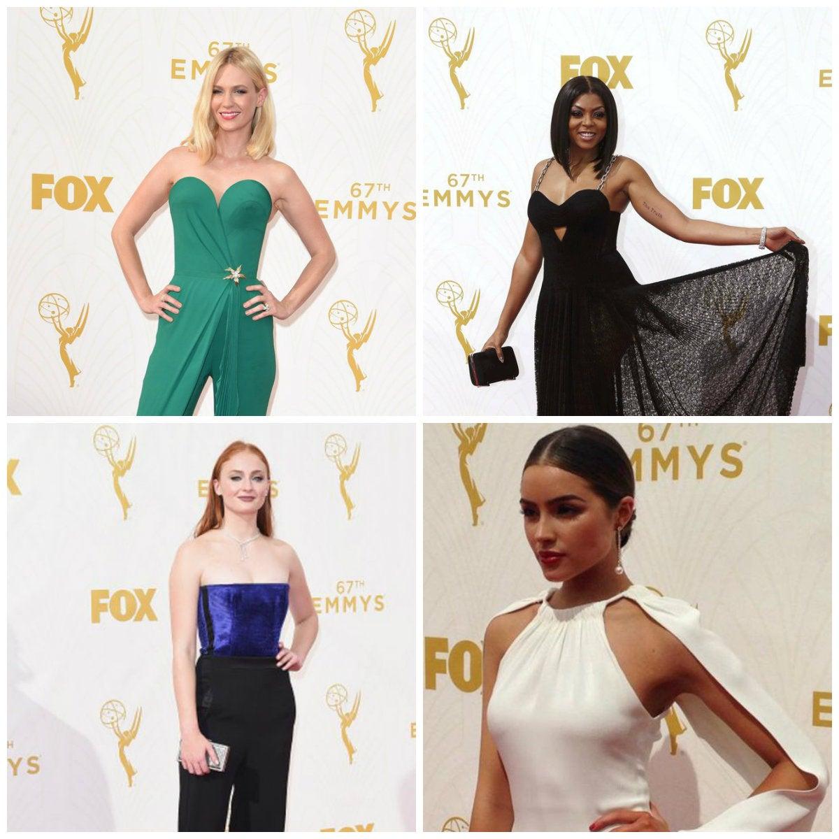 Los mejores vestidos de los Emmy 2015