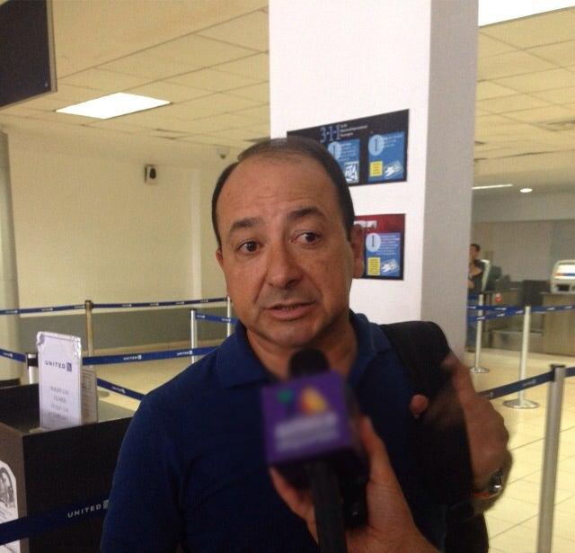 Osman Madrid regresa de Canadá sin Romell Quioto