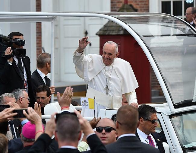 Papa insta a migrantes a que «no se avergüencen»