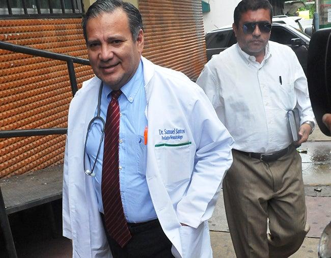 Honduras: Doctor Santos oficializa incidente y  pide permiso