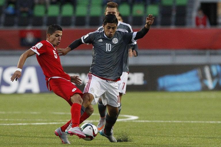 Paraguay golea 4-1 a Siria en debut en el Mundial Sub-17