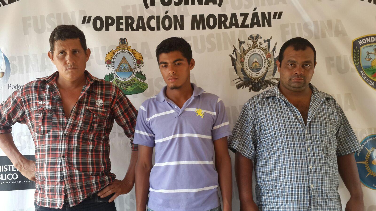 Francisco Morazán: Detienen a tres hombres por presunto hurto de ganado