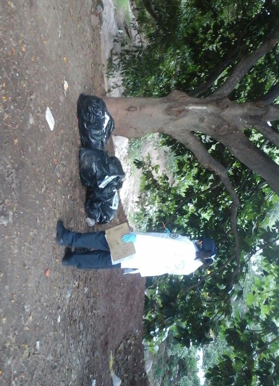 De tres jovencitas eran los cadáveres que dejaron en bolsas negras