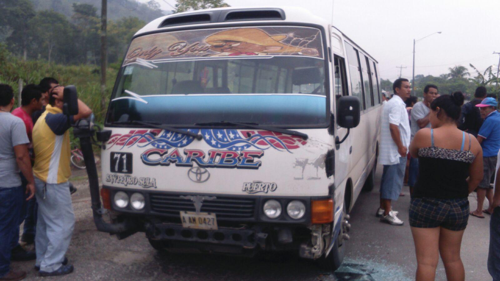 Asesinan a otro conductor de autobús de San Pedro Sula-Puerto Cortés