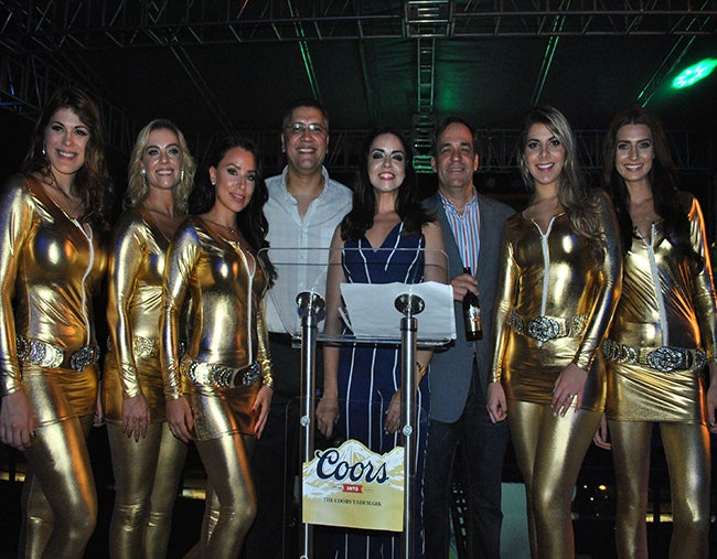"""Sampedranos disfrutaron de la """"Coors 1873 Launch Party"""""""
