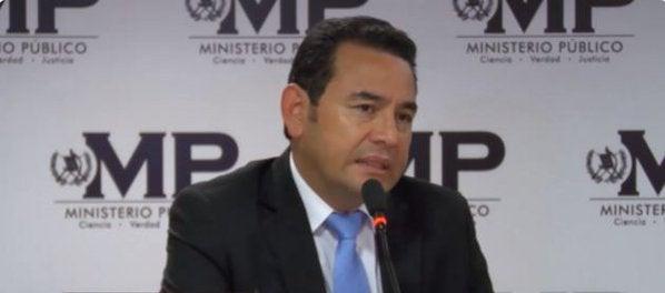 Guatemala: Jimmy Morales se compromete a prorrogar la CICIG hasta el 2021