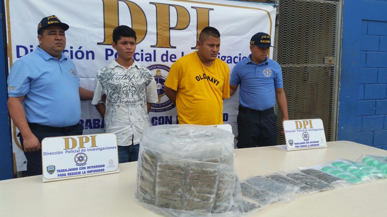 """DPI captura a dos supuestos miembros de """"Los Chirizos"""""""