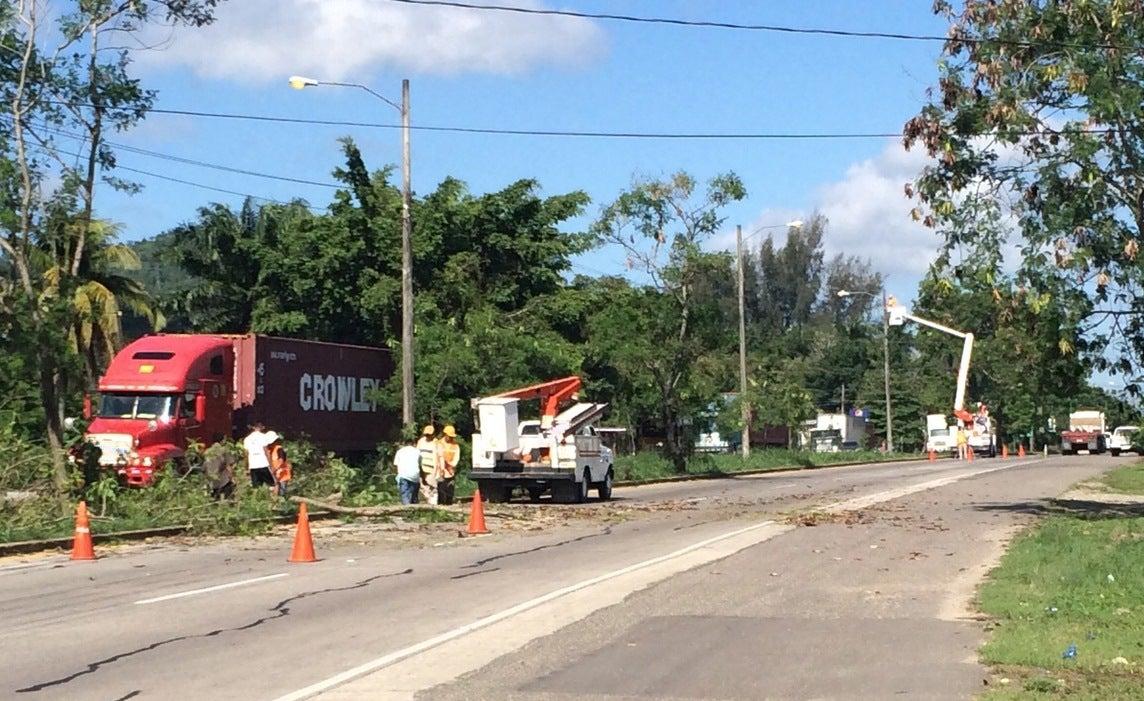 Inician trabajos para iluminar autopista Puerto Cortés-Choloma