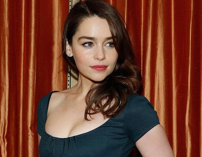 Emilia Clarke, la mujer más sexy del mundo