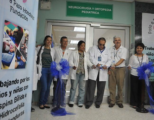 Sala pediátrica del Rivas ahora es más amplia