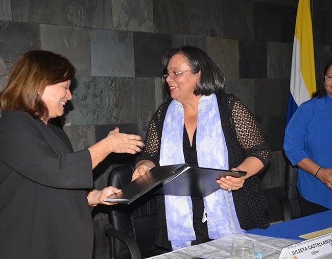 PNUD-UNAH firman convenio para el Observatorio de la Violencia