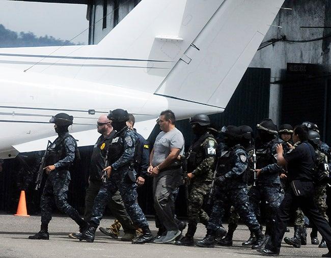 El ex agente Wilmer Carranza es el octavo hondureño en ser expatriado a EEUU