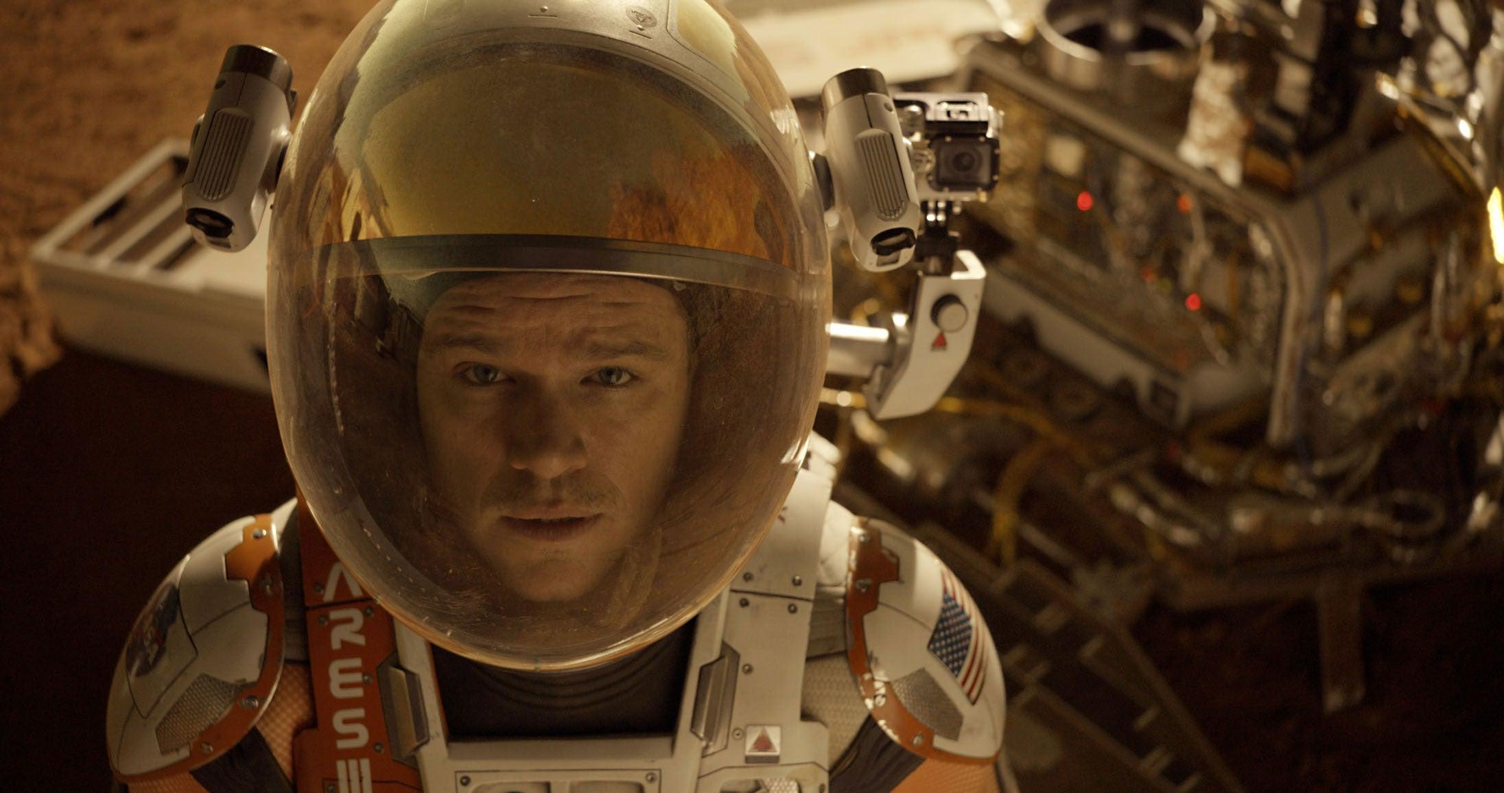 «The Martian» sigue en la cima de la taquilla norteamericana