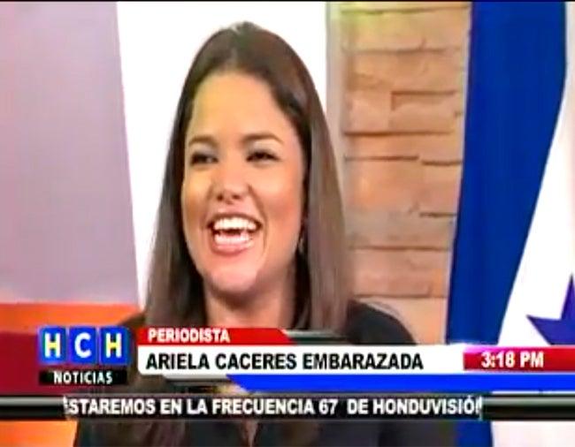 VIDEO: Ariela Cáceres de HCH confirma que está embarazada