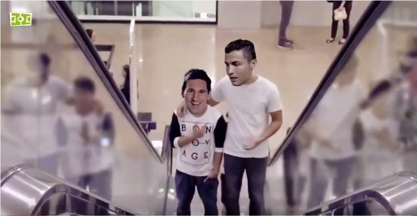 VIDEO: Messi y Cristiano Ronaldo, ¿Mejores amigos?