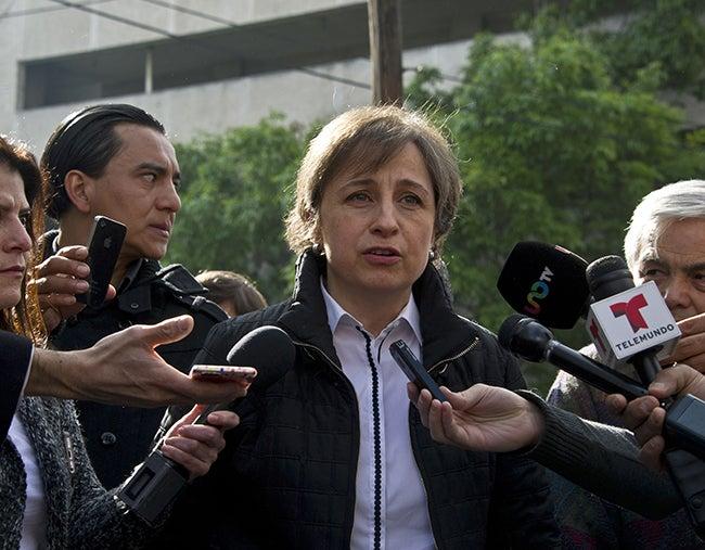 Aristegui anuncia querella contra Estado Mexicano ante la CIDH