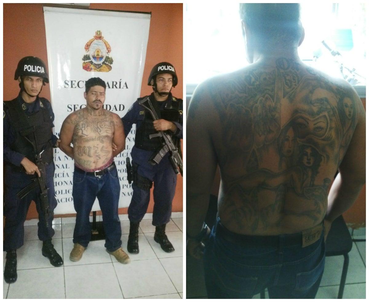 Detienen a supuesto miembro de la Mara-18 en posesión ilegal de arma