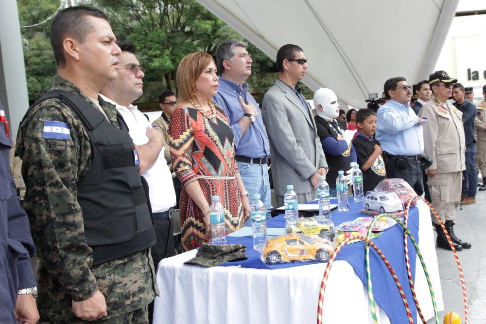 """Honduras: Lanzan operativo """"cero pólvora"""" y """"navidad segura"""""""