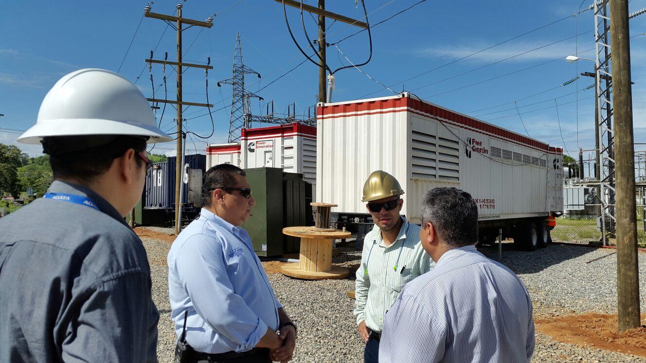 10 megavatios de energía entran hoy al litoral atlántico de Honduras